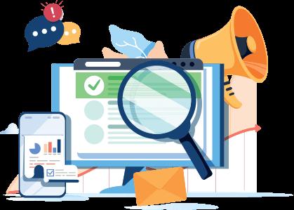 Teljes SEO eszköztárat az optimalizáláshoz és az eredmények értékeléséhez